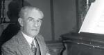Maurice Ravel a zongoránál (Fotó: Wikipédia)