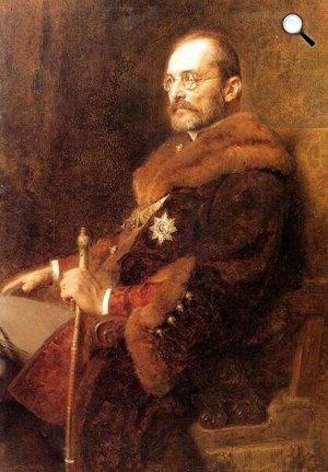 Benczúr Gyula: Tisza István gróf (Fotó: MNG)