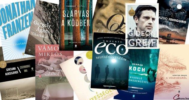 Európa Könyvkiadó - könyvek 2016 tavasza (Fotó: Cultura.hu)