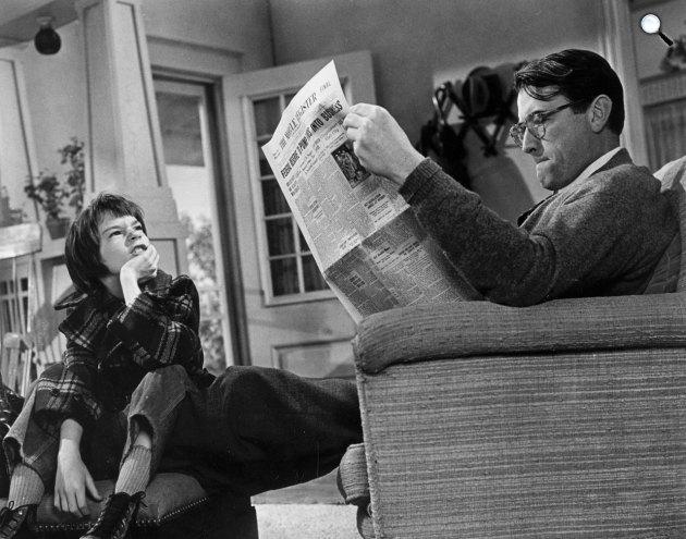 Ne bántsátok a feketerigót! - Gregory Peck, 1962 (Fotó: listal.com)