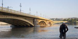 Margit híd 2013-as árrvíz idején, Budapest (MTI Fotó: Kallos Bea)