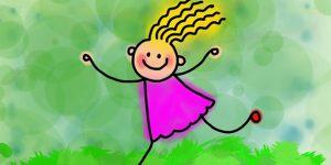 Kislány, rajz (Fotó: pixabay.com)