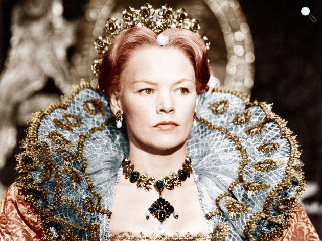 II. Erzsébet - Glenda Jackson (Fotó: listal.com)