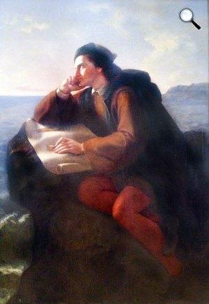 Jose Maria Obregon: Kolumbusz Kristóf, 1856 (Fotó: Wikipédia)