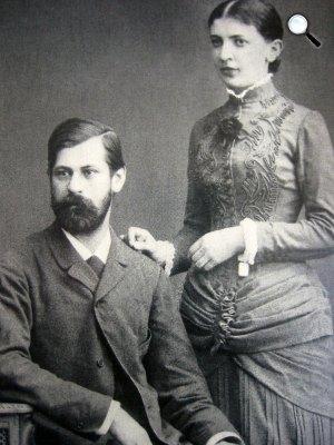 Sigmund Freud és felesége, Martha Bernays (Fotó: freud.org.uk)