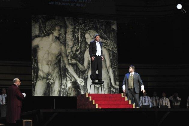 Wagner: A nürnbergi mesterdalnokok (Fotó: Müpa)