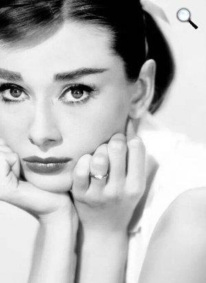 Audrey Hepburn (Fotó: listal.com)