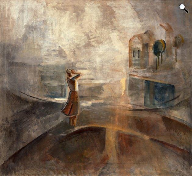 Egry József: Visszhang, 1936k (Fotó: Kogart)