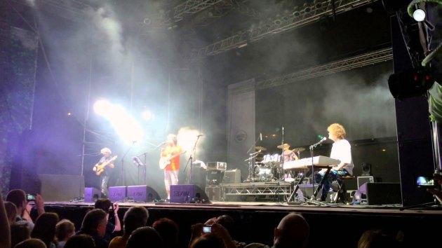Laár András - KFT koncert (Fotó: YouTube)