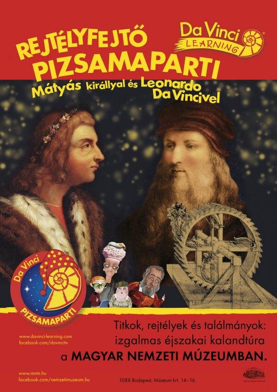 Pizsamaparti Da Vincivel Mátyás udvarában - Cultura.hu 99d2dc3654
