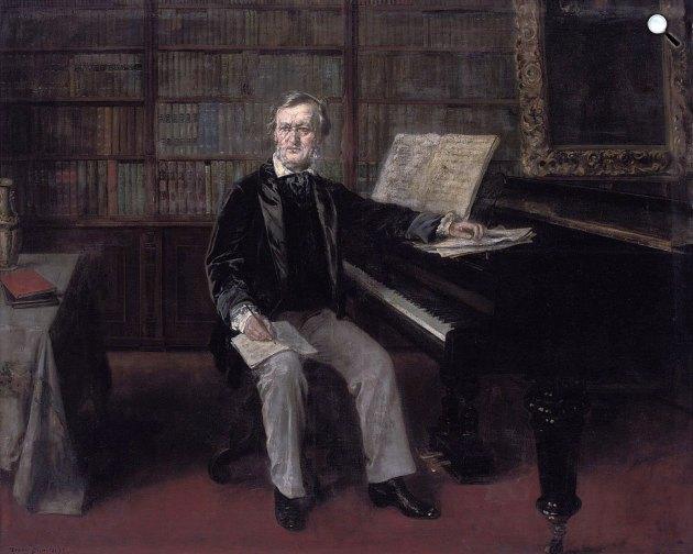Rudolf Eichstaedt: Richard Wagner (Fotó: Wikipédia)