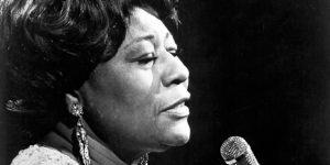 Ella Fitzgerald jazz-énekesnő (Fotó: Michael Ochs Archives/Getty)