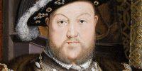 Ifj. Hans Holbein: VIII. Henrik angol király portréja, 1537 (Fotó: Wikiart)