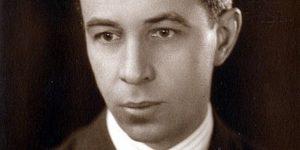Bókay János (1892 – 1961) magyar író, műfordító, 1920 (Fotó: OSZK)