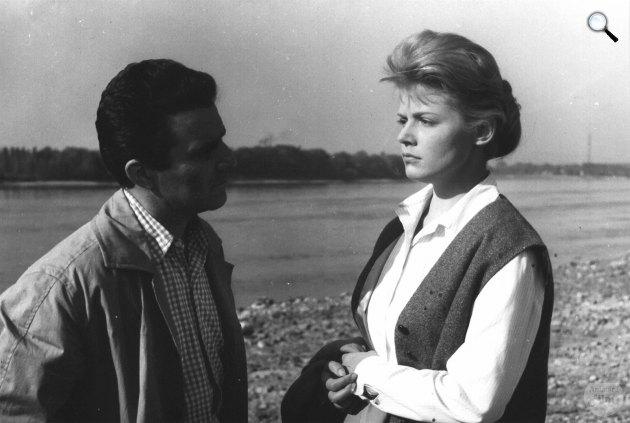 Fapados szerelem - Zenthe Ferenc és Krencsey Marianne, 1960 (Fotó: filmkultura.hu)