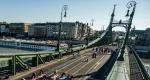 Szabadság híd, Budapest, 2016. július (MTI Fotó: Balogh Zoltán)