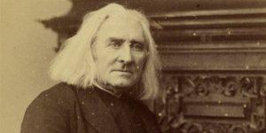 Liszt Ferenc zeneszerző, 1880 (Fotó: liszt.haus.at)