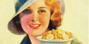Kellogg's Corn Flakes reklám plakátja (Fotó: Pinterest)