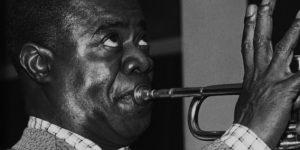 Louis Armstrong, Satchmo jazztrombitás (1901-1971) (Fotó: listal.com)