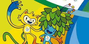 Riói nyári olimpia 2016 - Vinicius és Tom kabalafigurák (Fotó: Facebook)