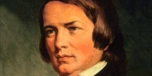 Robert Schumann német zeneszerző, (1810-1856) (Fotó: Wikipédia)