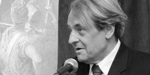 Szegedy-Maszák Mihály író, szerkesztő (1943-2016) (Fotó: MTA)