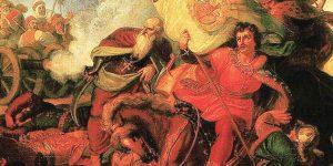 Than Mór: A mohácsi csata, 1856 (Fotó: Wikimédia, részlet)