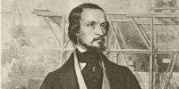 Barabás Miklós: Clark Ádám, a Lánchíd tervezője, 1840 (Fotó: OSZK)