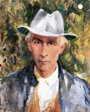 Szalatnay József: Ápriliy Lajos portréja (Fotó: OSZK)