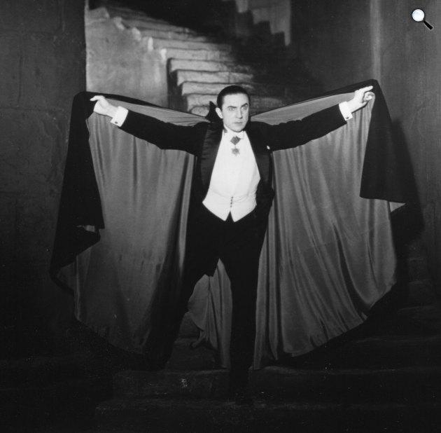 Drakula - Lugosi Béla, 1931 (Fotó: listal.com)