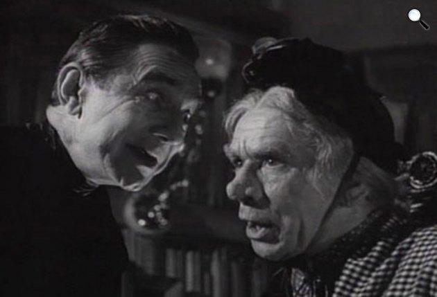 Mother Riley Meets the Vampires - Lugosi Béla és Arthur Lucan, 1952 (Fotó: Renown Pictures/Hemlock)