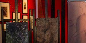 Fiedler Ferenc műveivel bővült a Nemzeti Múzeum REJT/JEL/KÉPEK '56 című kiállítása (MTI Fotó: Szigetváry Zsolt)
