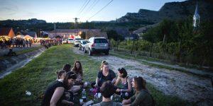 9. Ördögkatlan Fesztivál, Nagyharsány, 2016 (MTI Fotó: Sóki Tamás)