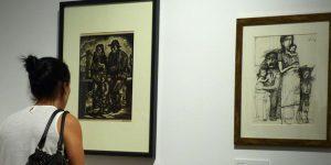 Szalay – Sokol – Picasso kiállítás a Várkert Bazárban (Fotó: Hegedüs Panna)