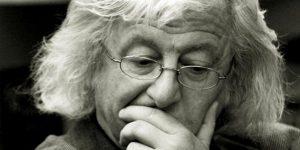 Esterházy Péter író (1950-2016) (Fotó: Rick Zsófi)