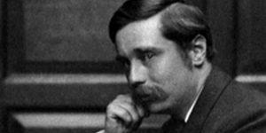 H. G. Wells író (Fotó: hgwellssociety.com)