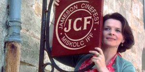 Juliette Binoche, Jameson CineFest (Fotó: Jameson CineFest/Facebook)