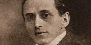 Bródy Miksa író (1875-1924), 1915 (Fotó: PIM)