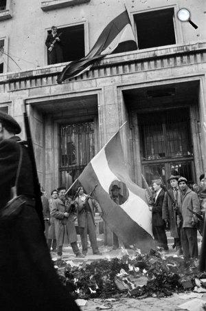 Erich Lessing: Budapest, 1956  (Fotó: Erich Lessing/Magnum Photos)