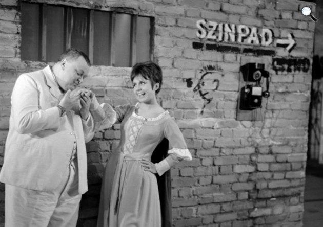 Cole Porter: Csókolj meg, Katám! - Szendrő József és Lehoczky Zsuzsa (Fotó: MaNDa)