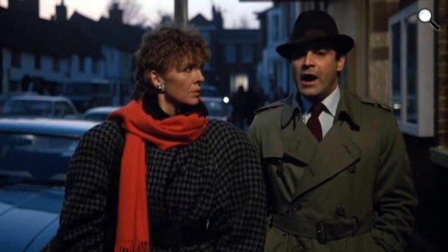 John le Carré: Kettős szerepben - Diane Keaton és David Suchet, 1984 (Fotó: listal.com)