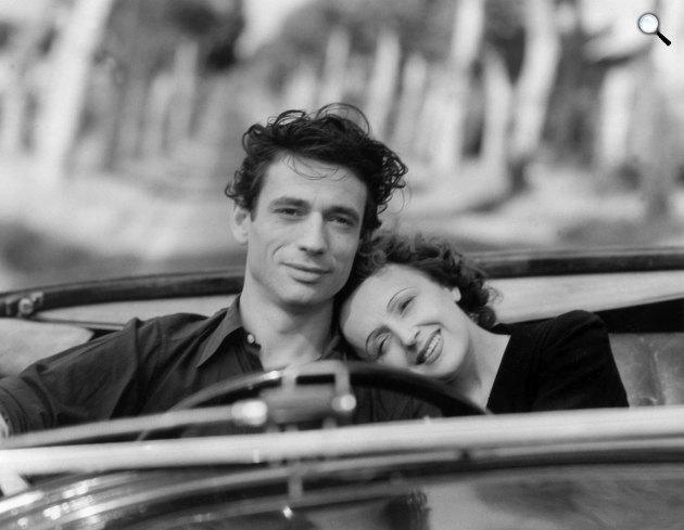 Edith Piaf és Yves Montand, 1946 (Fotó: listal.com)