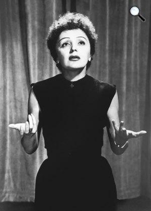 Edith Piaf sanzonénekes (1915-1963) (Fotó: listal.com)
