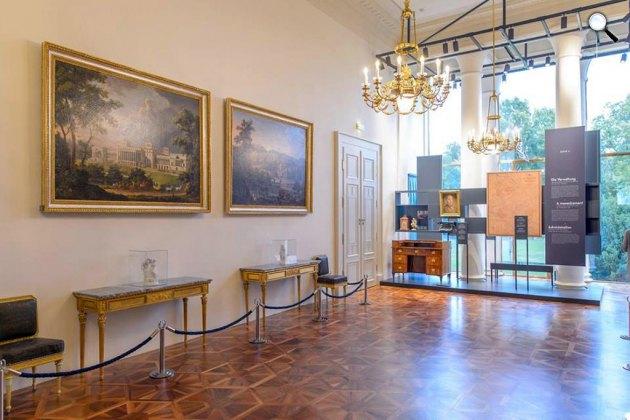 Esterházy Melinda életét bemutató kiállítás, Esterházy-kastély, Kismarton (Fotó: Esterházy Ausztria/Facebook)