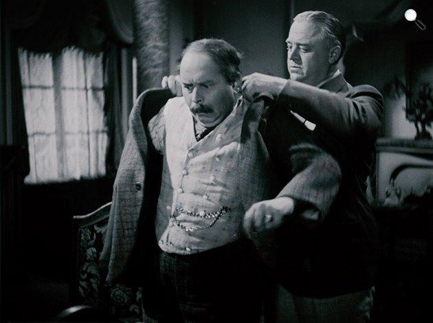 Székely István: Hyppolit, a lakáj - Kabos Gyula és Csortos Gyula, 1931 (Fotó: filmkultura.hu)