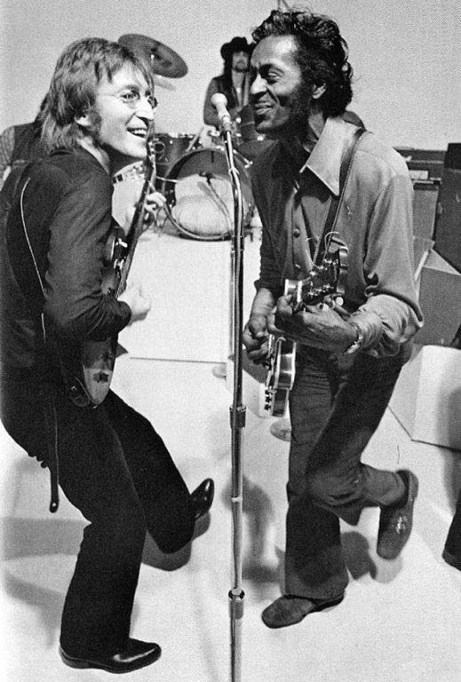 Chuck Berry és John Lennon