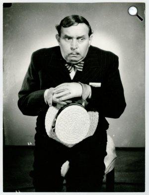 Kabos Gyula, színész, humorista (Fotó: OSZK)
