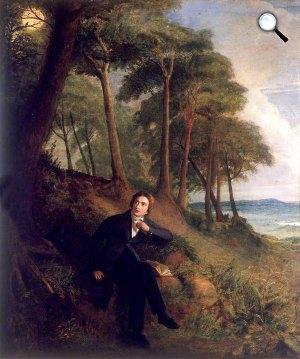oseph Severn: Keats a csalogányokat hallgatja, 1845 (Fotó: Wikipédia)