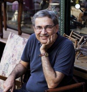 Orhan Pamuk Nobel-díjas író (Fotó: www.orhanpamuk.net)