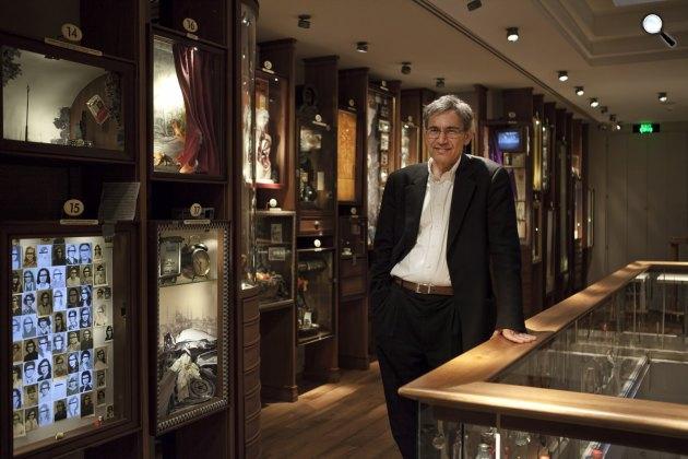 Orhan Pamuk Nobel-díjas író, Az ártatlanság múzeuma (Fotó: orhanpamuk.net)